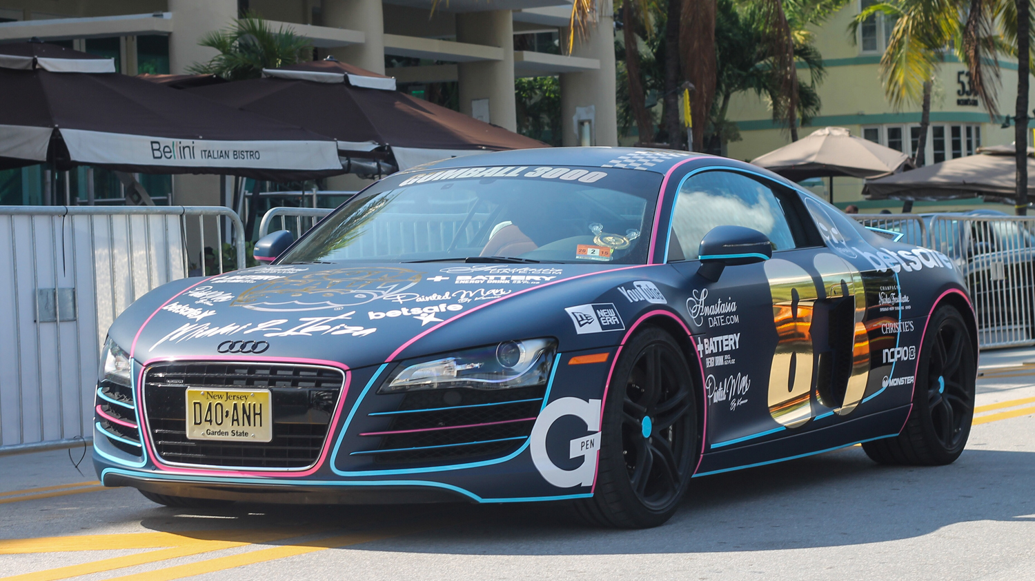 Gumball 3000: the first day is over