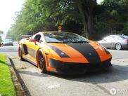 Hoeveel pk zou deze Lamborghini Gallardo hebben?