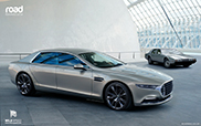 Aston Martin Lagonda: only 100 copies