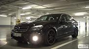 Video: burnout con una Mercedes-Benz C 63 AMG