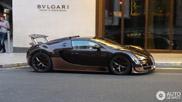 """Peperdure Bugatti Veyron ''Rembrandt"""" verschijnt in Londen"""