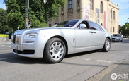 First facelifted Rolls-Royce Ghost EWB is already spotted