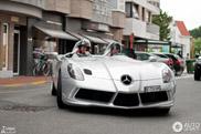 Zeldzame SLR McLaren Stirling Moss fleurt Knokke-Heist op