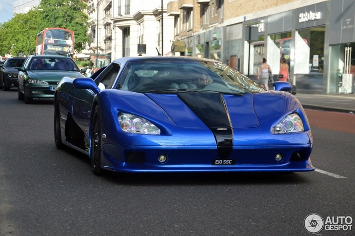 American SSC Ultimate Aero TT shows up in London