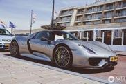 Spot van de dag: Porsche 918 Spyder in Noordwijk