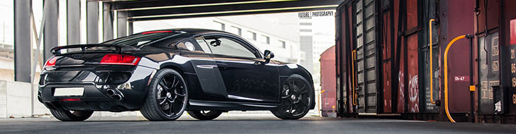 Photoshoot: Audi R8 ABT