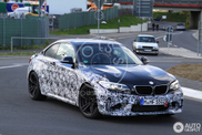 BMW M2 is making its laps on the Nordschleife