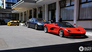 LaFerrari & Ferrari F50 spotted together