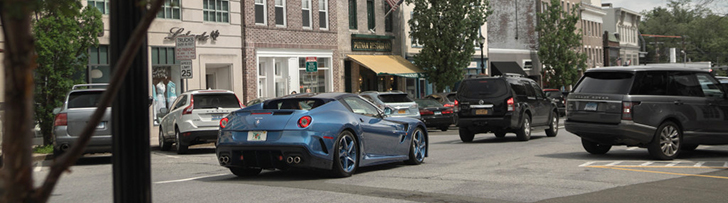 Ferrari Superamerica 45 sfotografowane w Greenwich