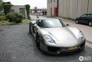Spot van de dag: Porsche 918 Spyder in Houten