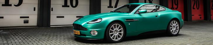 Aston Martin Vanquish S is nog steeds prachtig