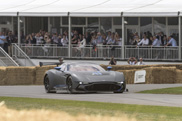 Aston Martin Vulcan makes dynamic debut at Goodwood