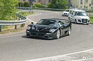 Zwarte volbloed gespot: Ferrari F50