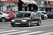Heerlijk retro: Mercedes-Benz 190E EVO II