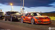 Brits supercar konvooi in Zandvoort