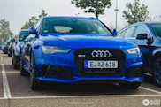 Gespot: Audi RS6 Performance met lekkere kleur