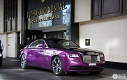 Fouter dan fout: paarse Rolls-Royce Wraith