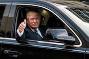 Wagenpark van Donald Trump