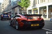 Instagrammer Woppum in his McLaren P1
