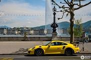 Fris kleurtje op deze Porsche 991 GT3 RS