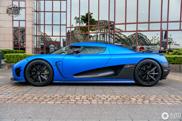 Blauwe spierbonk: Koenigsegg Agera R