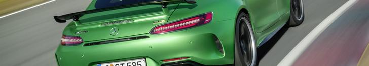 绿地狱野兽:马赛地 AMG GT R