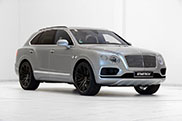 Bentley Bentayga looks even more impressive on 23 inch