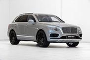 Bentley Bentayga looks even more impressive on 23 inch