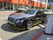 Gespot: Bentley Continental GT Speed Breitling Jet Team Series