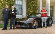 Ferrari California T Handling Speciale delivers breakfast in style