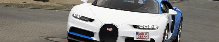 Deze Bugatti Chiron straalt!
