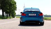 BMW M2 met 401 pk door ShifTech