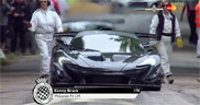 McLaren P1 LM beats the track record at Goodwood FoS