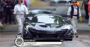 McLaren P1 LM beats the track record at Goodwood FoS