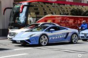 Lamborghini van de Politie verdwaalt in München