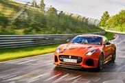 Ultieme verleiding: meerijden in Jaguar F-TYPE SVR op de Ring