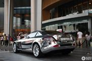 Aan spiegels geen gebrek bij deze Mercedes-Benz SLR McLaren