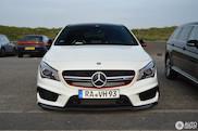 Spot van de dag: Mercedes-Benz CLA 45 AMG Shooting Brake OrangeArt