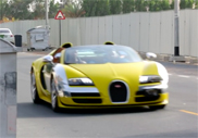 Movie: Uber taxi with a Bugatti Veyron 16.4 Grand Sport