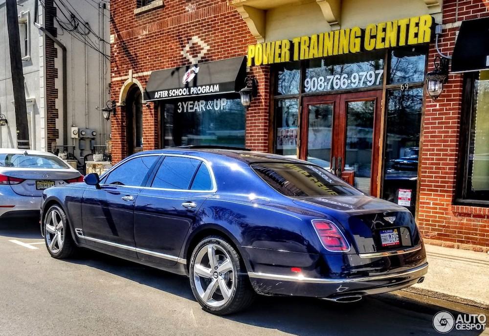 Deze Bentley Mulsanne is om meerdere redenen bijzonder