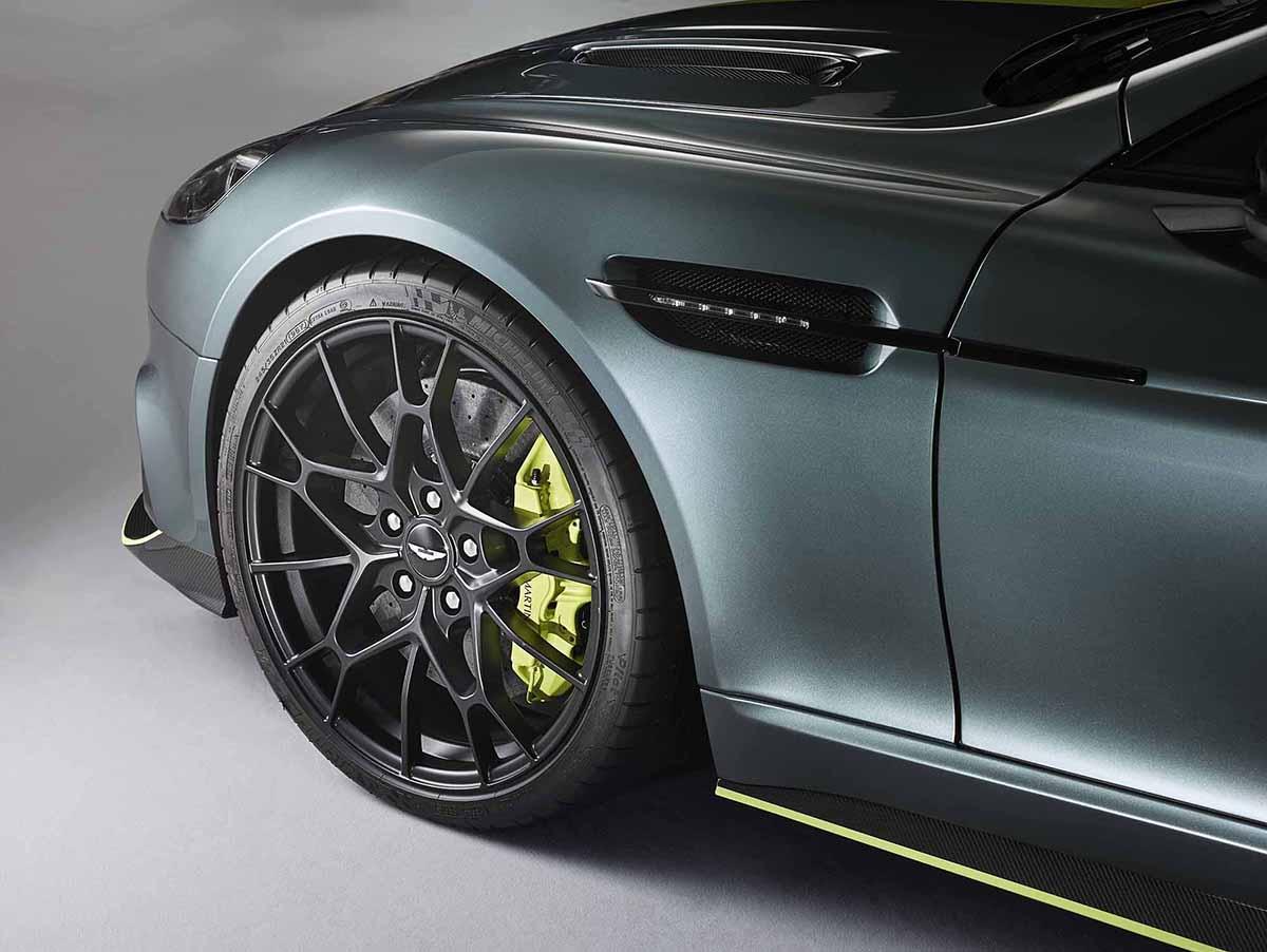 Aston Martin Rapide AMR klaar voor Le Mans
