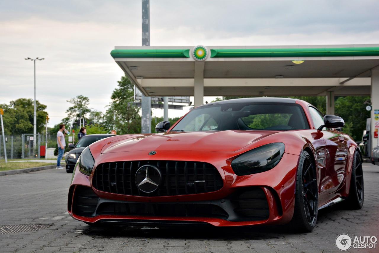 Mercedes-AMG GT R maar dan net even wat stoerder