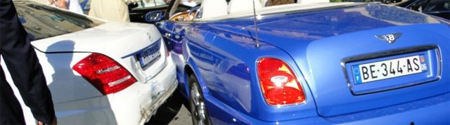Spot van de dag: Ferrari F430 meets Bentley Azure
