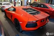 Ein Augenschmaus: Lamborghini Aventador LP700-4 in Kuala Lumpur gespottet
