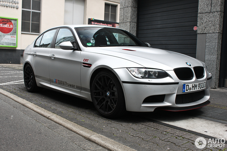 Rare BMW M3 CRT spotted in Germany