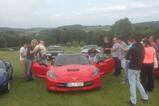 Corvette C7 Stingray stal even de show bij Corvette-fame