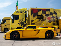 Porsche Carrera GT door Königseder is een vreemde verschijning