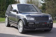 New Range Rover according to Mansory Zwitserland