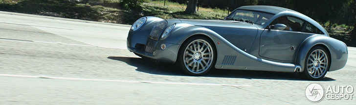 Morgan Aeromax Coupé gespot in Californië!
