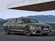 Just as brutal as unlikely: Audi RS8